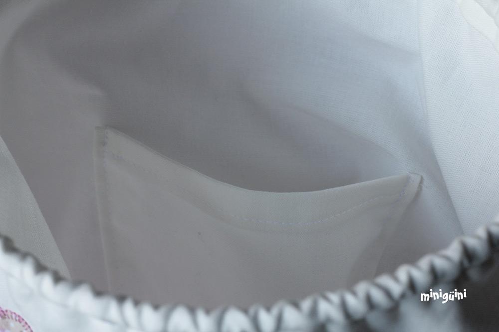 Interior bolsa merienda