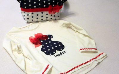 Conjunto de camiseta TOUS y bolso para niña